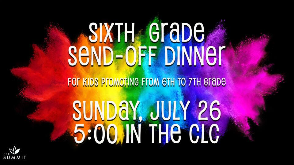 6th Grade Promotion Dinner